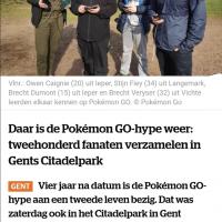 Pokémon GO Gent